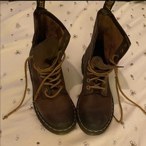 Doc martens real leather